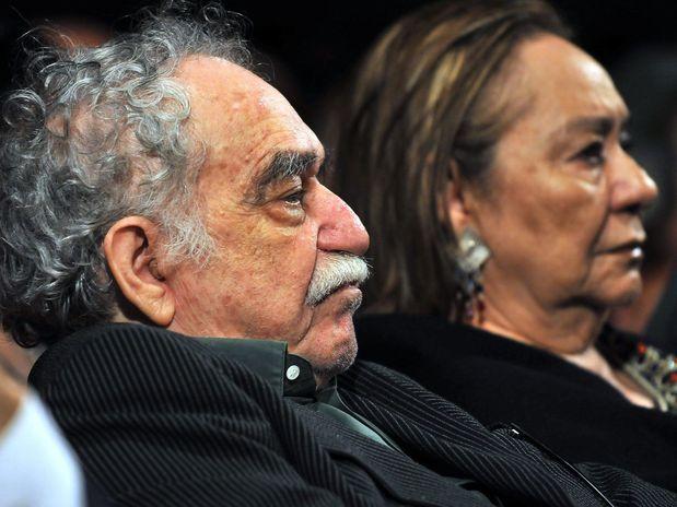 El escritor Gabriel García Márquez no reconoce a sus amigos
