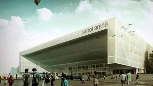 Suspenden Antel Arena, una ambiciosa obra de la Administración Mujica