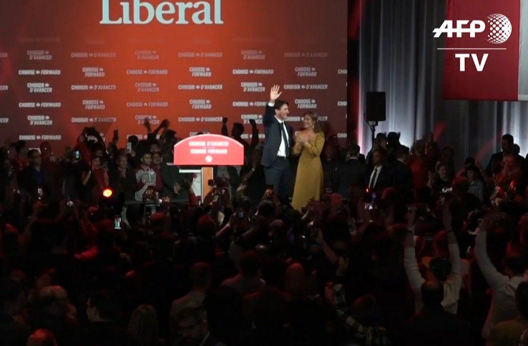 Justin Trudeau gana su segundo mandato como Primer Ministro