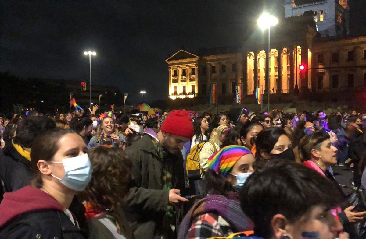Se realizó una nueva Marcha de la Diversidad por avenida del Libertador