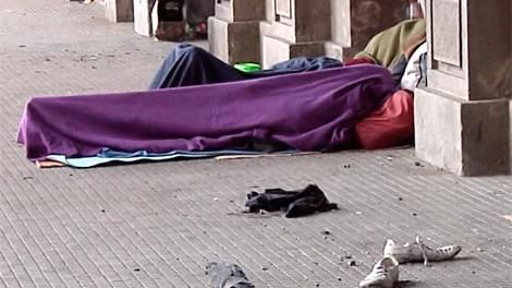 Hombre en situación de calle murió por aparente hipotermia