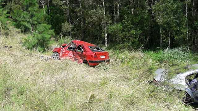Familia muere tras accidente frontal en Rocha con conductor argentino