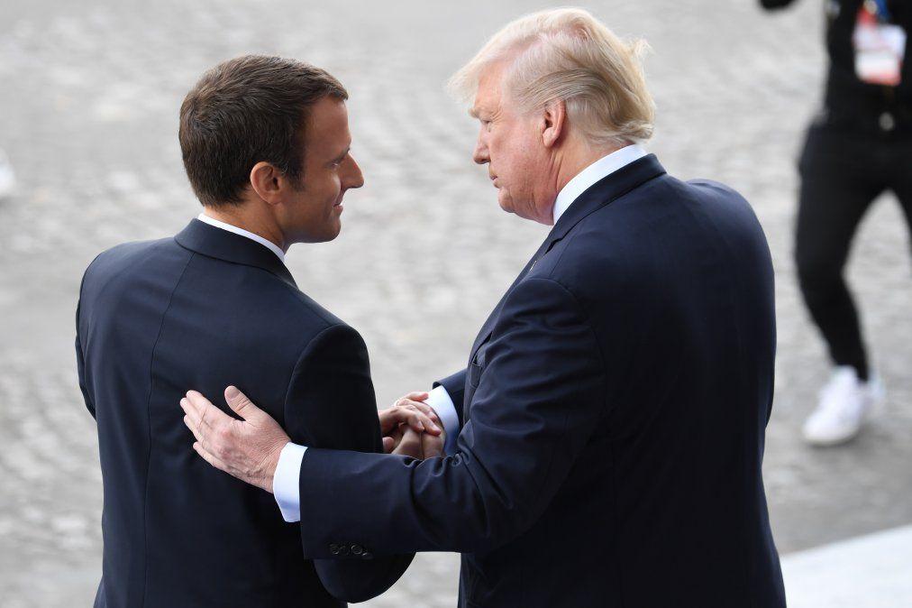 Macron: Nunca debemos mostrarnos débiles ante Putin