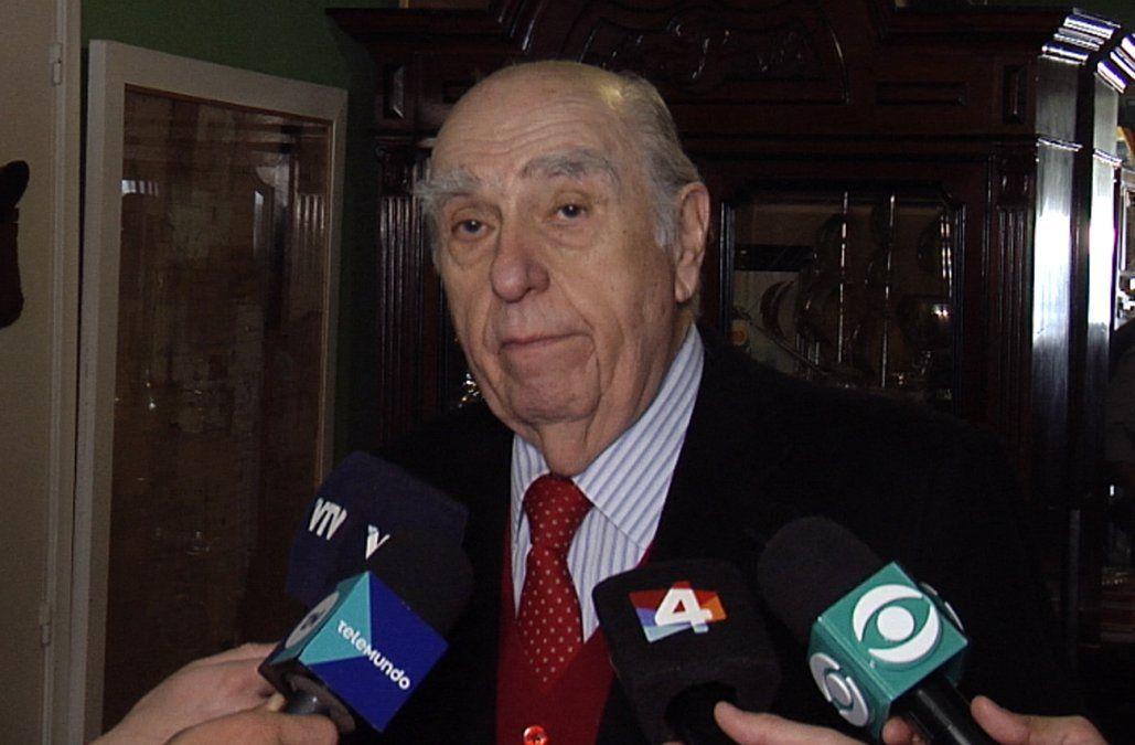 Sanguinetti anunció que el domingo votará por la reforma Vivir sin miedo