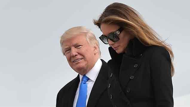 Trump inició en Washington los actos previos a su asunción el viernes
