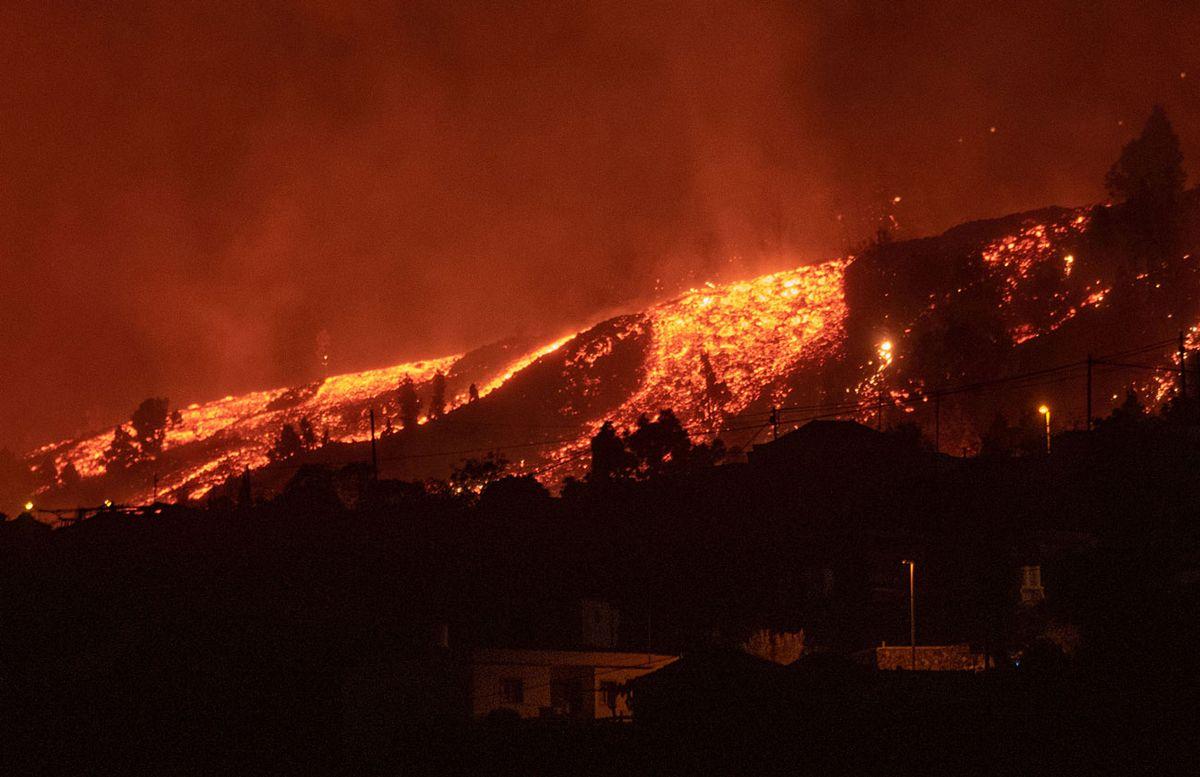13 uruguayos están en la zona de erupción del volcán de La Palma