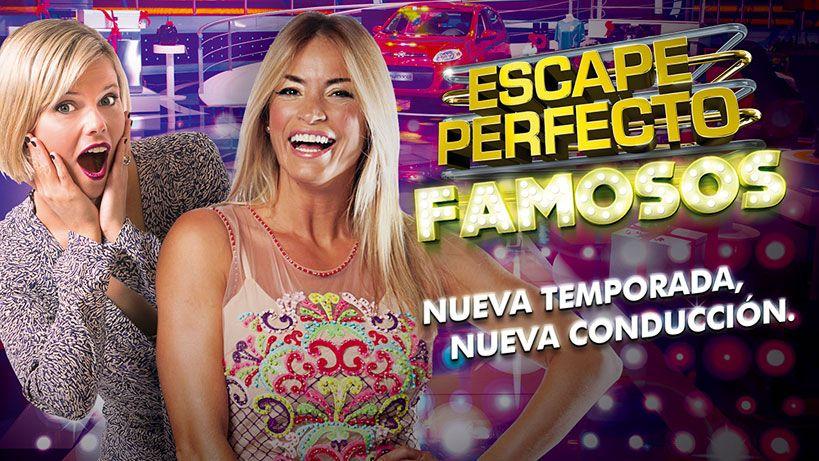 Claudia Fernández y Annasofía Facello conducen el nuevo Escape Perfecto Famosos