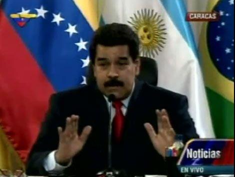 Maduro apresó a tres generales acusados de golpe de Estado