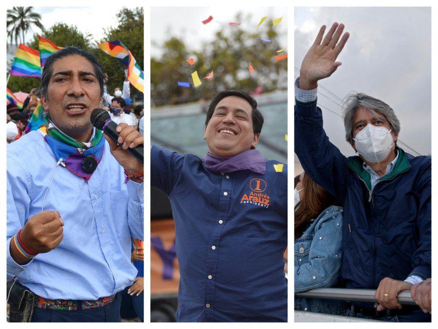 Un joven economista, un exbanquero y un indígena, las apuestas presidenciales de Ecuador