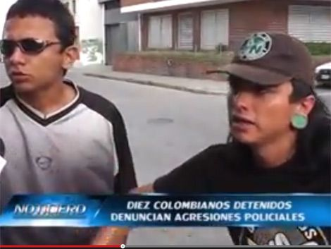 Doce policías procesados por golpear a hinchas del Medellín