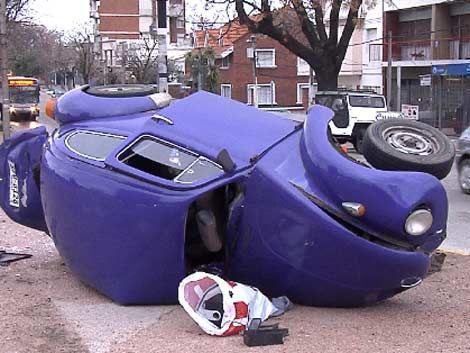 Grave accidente en el barrio La Blanqueada