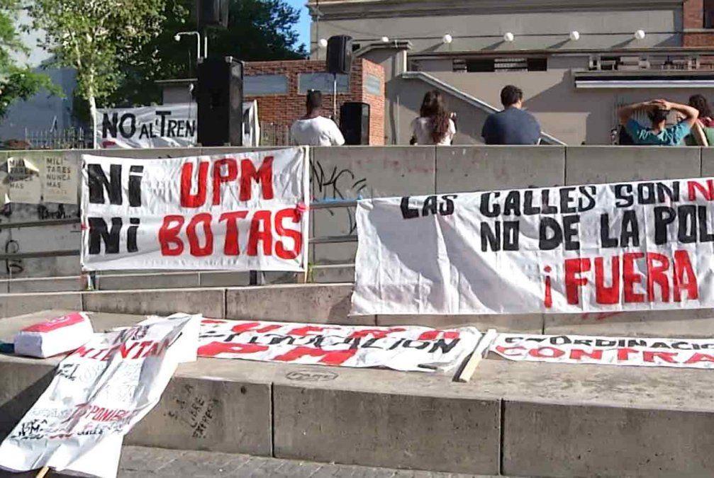 Concentración y marcha contra la instalación de la segunda planta de UPM