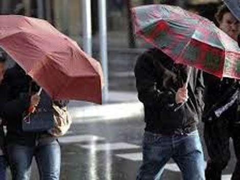 Hoy viernes inestable y lluvioso; temperatura máxima de 25º