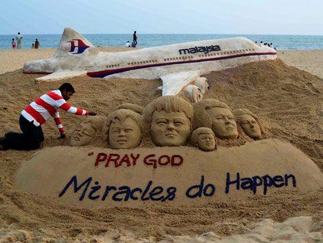 Manejan hipótesis terrorista en desaparición de avión en Malasia