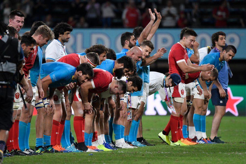 Uruguay se despidió del Mundial de rugby con un buen partido ante Gales