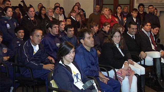 Delegación celeste parte a la Olimpiada Deportiva Especial en Bogotá