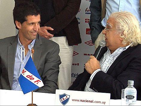 El Chavo aseguró que llega en su mejor momento a Nacional