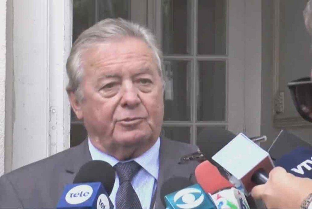 Intendente Carlos Moreira: Estoy tranquilo, soy absolutamente inocente