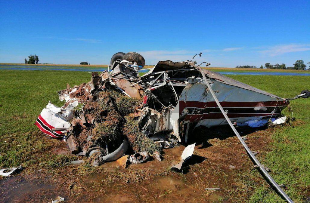 Falleció el piloto de una avioneta fumigadora al precipitarse a tierra cerca de Río Branco