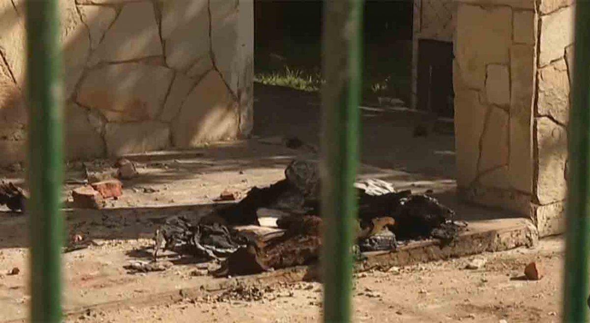 Un hombre de 70 años murió tras incendiarse su vivienda y su mujer permanece detenida