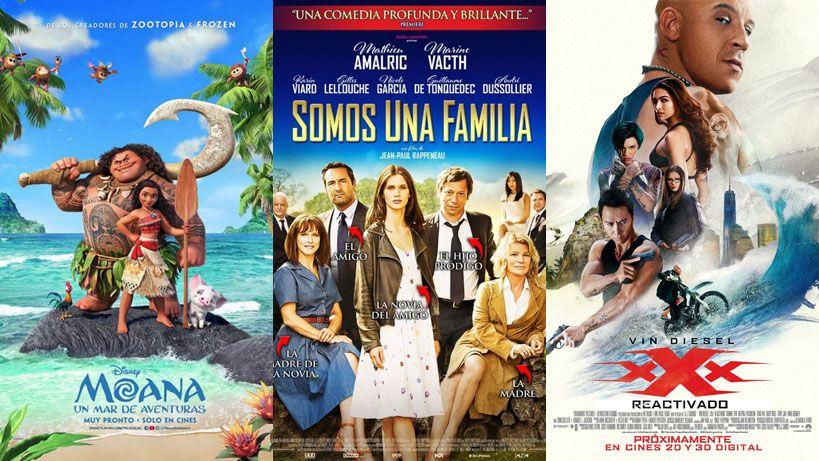 Lo que hay para ver: estos son los estrenos de cine del fin de semana