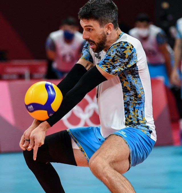 Selección masculina de voleibol argentina perdió con Francia y va por el bronce ante Brasil