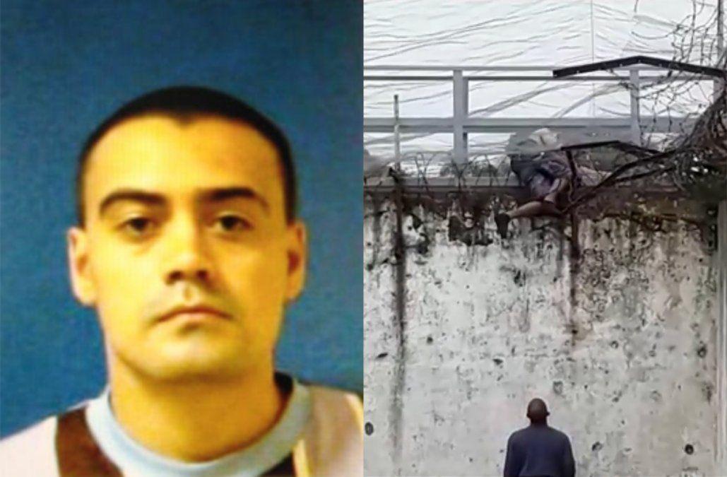 Fugó de cárcel brasileña cerca de la frontera con Uruguay y otro recluso lo filmó desde su celda