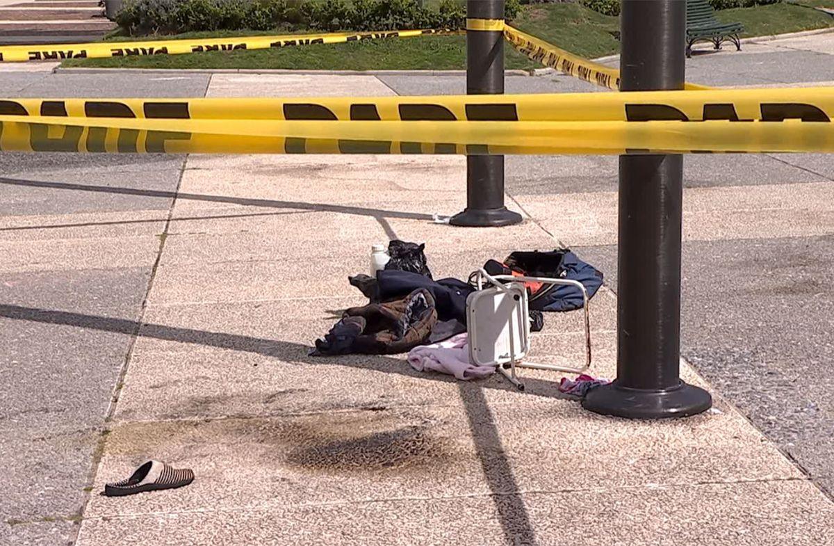 Falleció el hombre que se prendió fuego frente a la Torre Ejecutiva