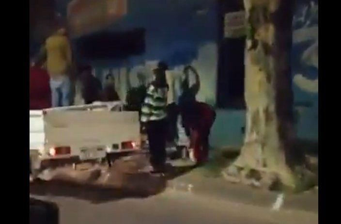 Militantes del MPP pretendìan intervenir un muro con pintada de Luis Lacalle Pou. esto enojó a un grupo de 6 adherentes del Partido Nacional. Hubo agresiones y amenazas de muerte.