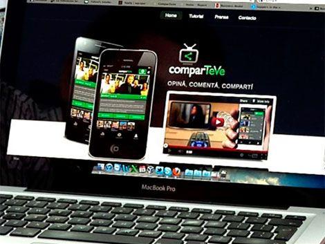 """""""ComparTeve"""" aplicación móvil gratuitareconoce que miras en TV"""