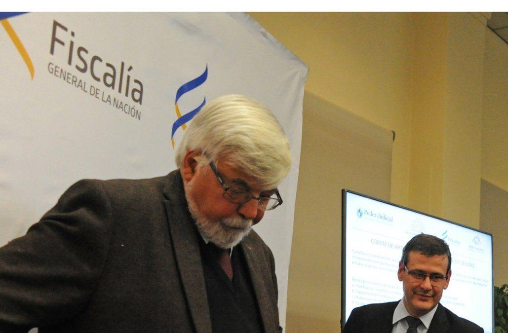 Bonomi y Jorge Díaz apoyaron conjuntamente el cambio del CPP