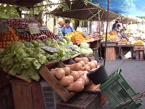 Gobierno publica precios de frutas y verduras en las ferias