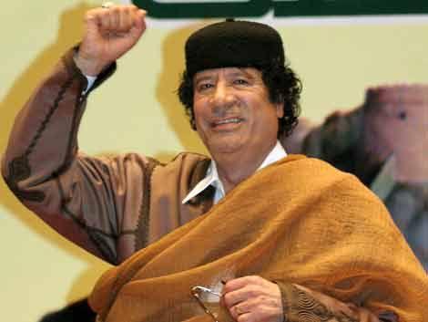 Quién es Muamar el Gadafi