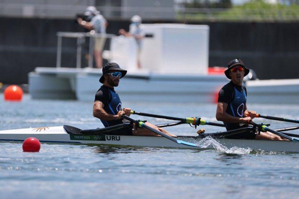 Los remeros uruguayos clasificaron a las semifinales de los Juegos Olímpicos