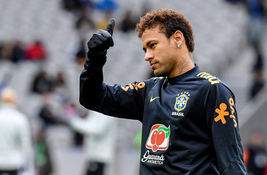 Neymar lidera la lista de Brasil a Rusia en busca de su sexta Copa del Mundo