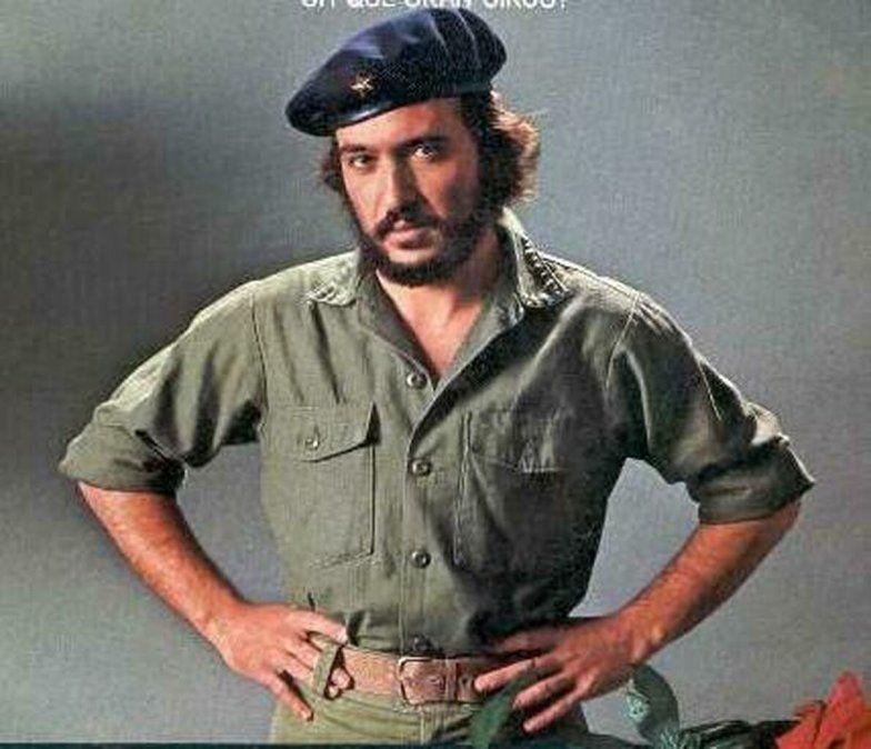 Andióin como El Che en el música Evita durante los años 80.