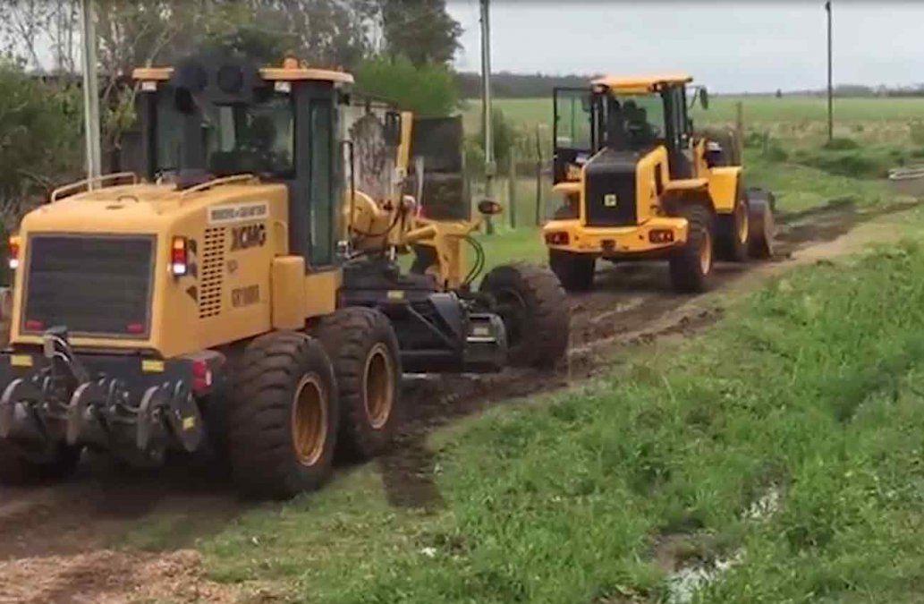 Alcalde embistió tres veces una máquina municipal de la Intendencia de Salto