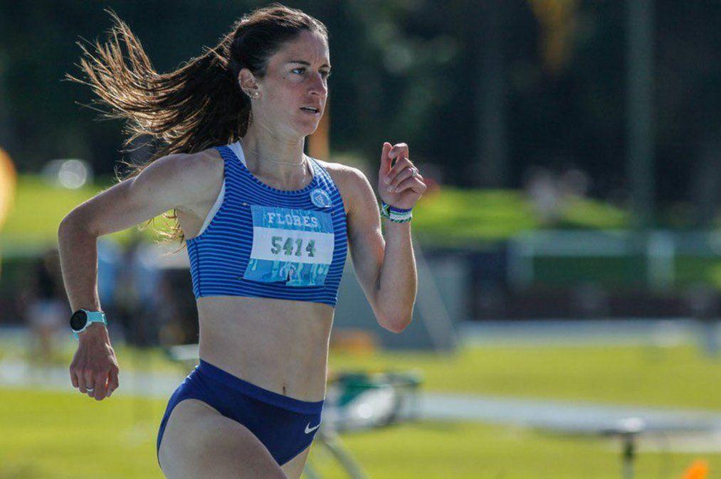 Debuta la uruguaya María Pía Fernández en los 1.500 metros de atletismo