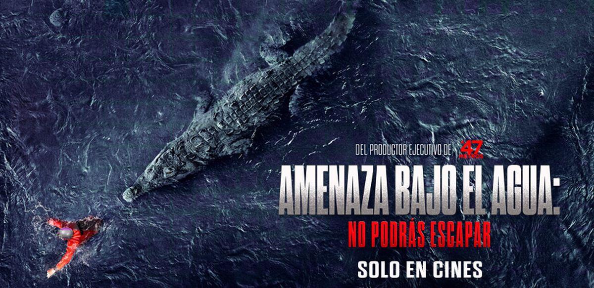 Amenaza Bajo el Agua: No podrás Escapar se estrena este jueves