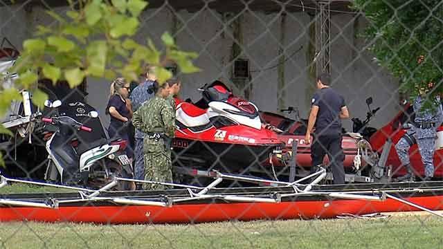 Un fallecido en el río Santa Lucía por choque entre bote y moto de agua