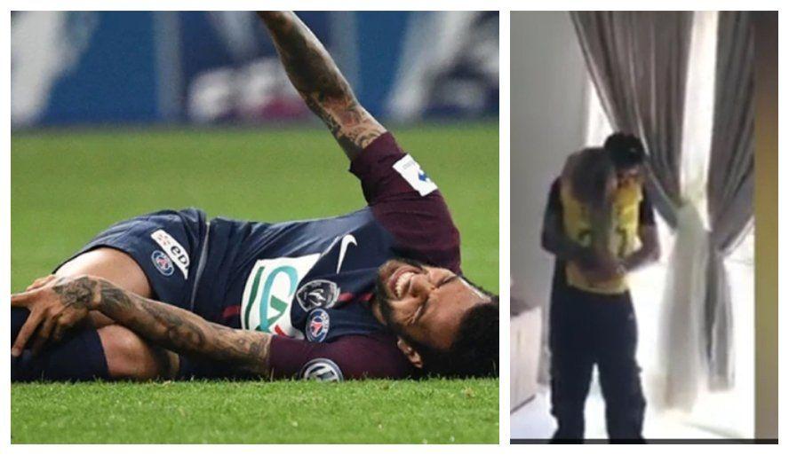 El dolor de Alves y la alegría de Fagner
