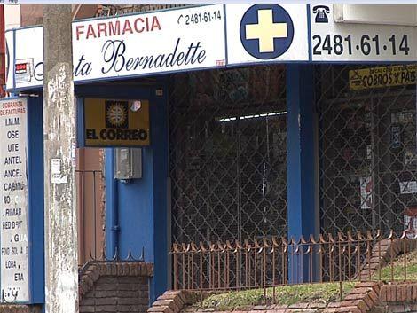 Dos adolescentes con libertad asistida asaltaron una farmacia