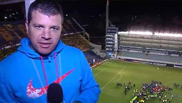 Subrayado en La Bombonera: 45 minutos de fútbol y luego el descontrol