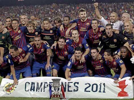Barcelona campeón de su décima Supercopa de España