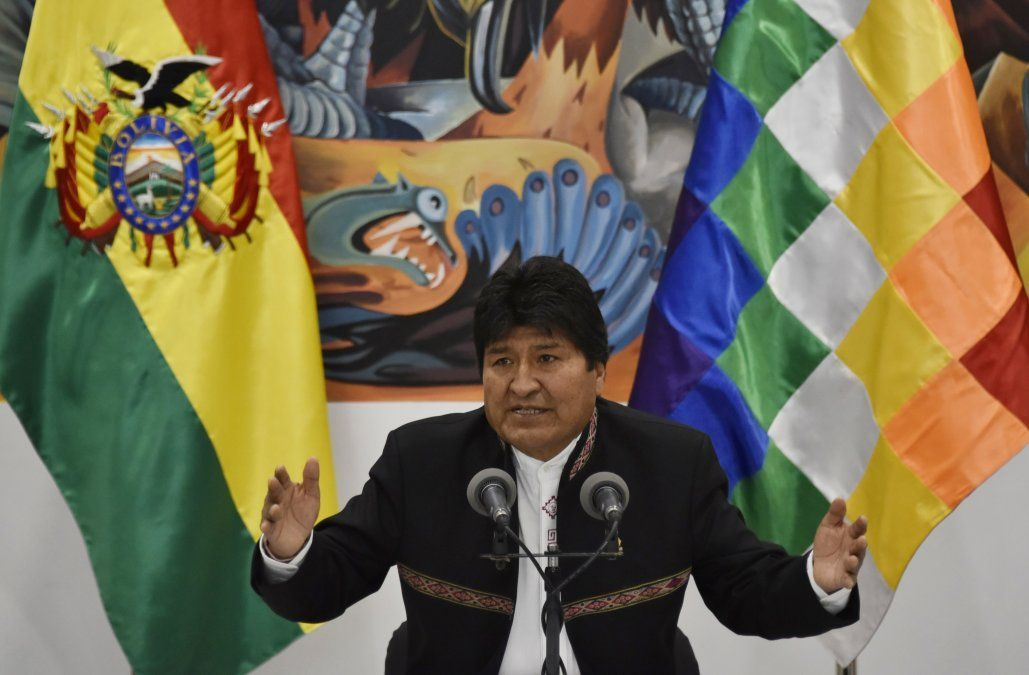 Evo Morales se proclama otra vez presidente: ya ganamos en primera vuelta