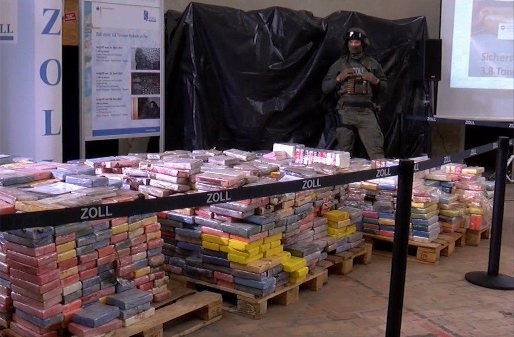 Casi 2 toneladas de cocaína incautada y más de 550 operativos en lo que va del año