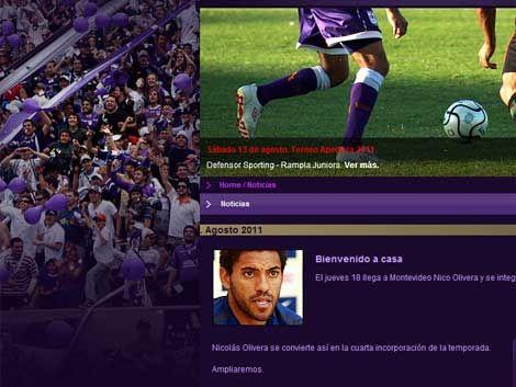 Defensor y una sorpresa más: Nico Olivera vuelve a ser violeta