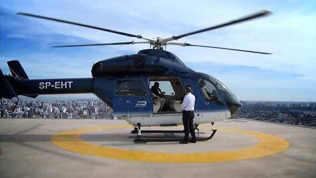 Inauguraron el primer helipuerto internacional elevado de Uruguay