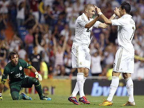Real Madrid le ganó 2 a 1 al Galatasaray de Muslera