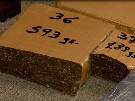 Armada corrigió: no fueron 1.736 kilos